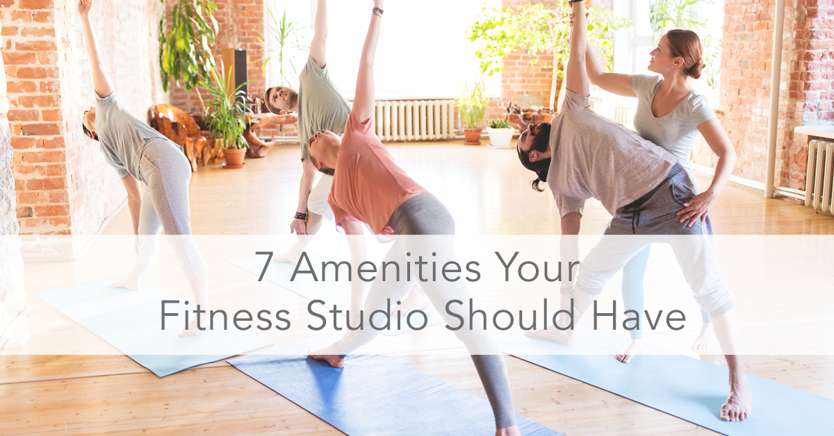 341b65d78 7 Amenities Your Fitness Studio Should Have